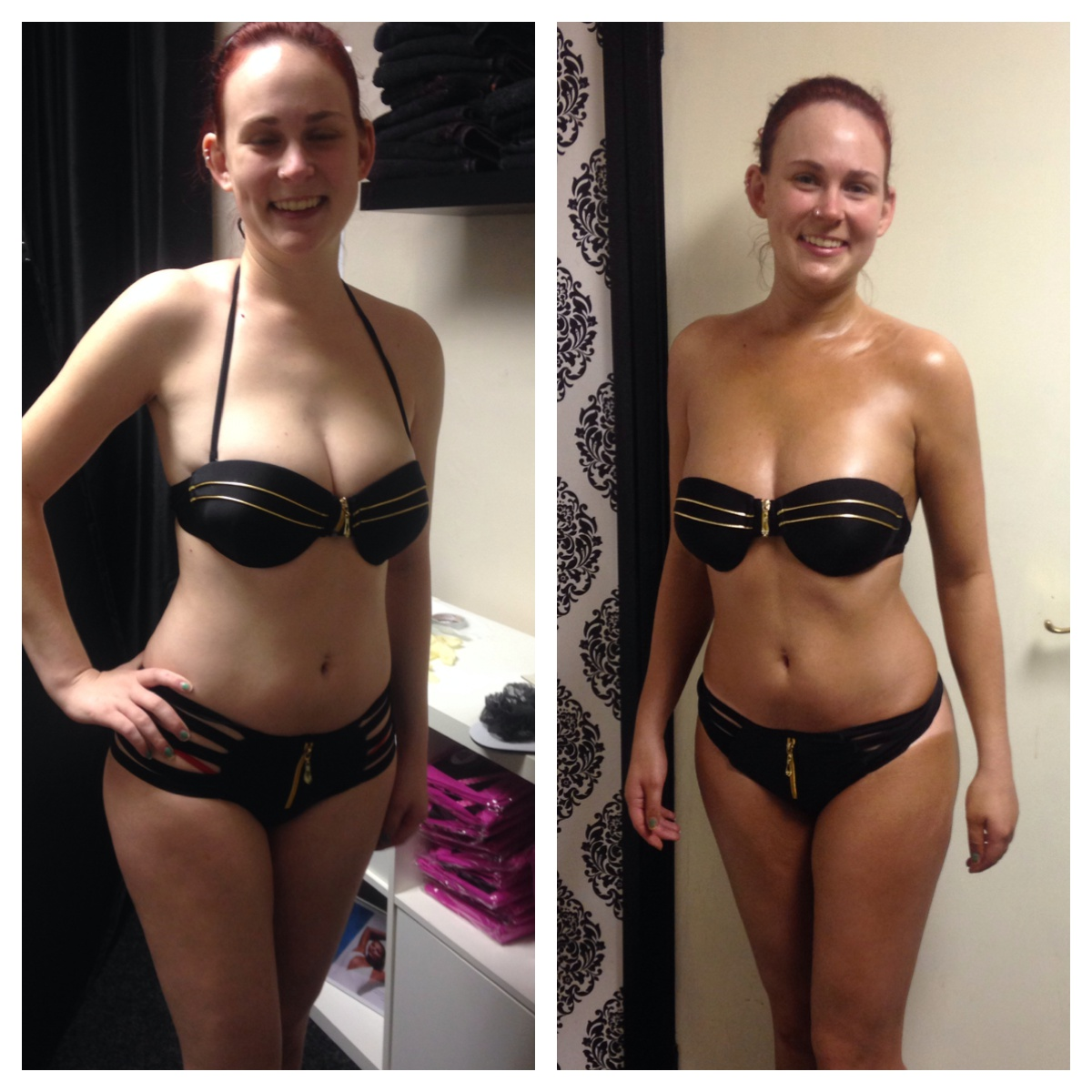 Instant Tanning Bed Before And After