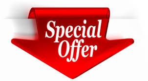 Special offers for 2016