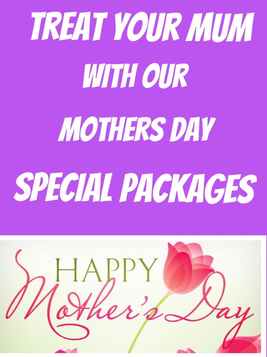 Mothers day special packages faye louise hair salon for Mother daughter weekend spa getaways